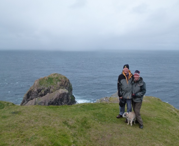 Us at Cape Wrath