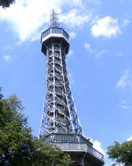 "Prague's ""Eiffel tower"" on Petrin Hill"